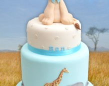 Safari Set Lion Cake