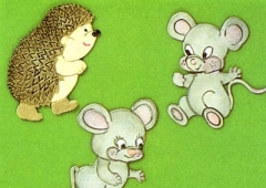 Mice & Hedgehog